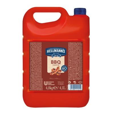 Hellmann's sos barbeque 4,8 kg