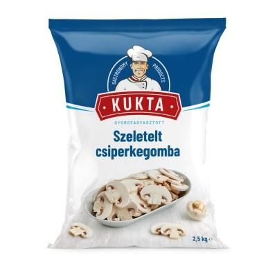 Sugestie de prezentare pentru Ciuperci champignon felii, Kukta