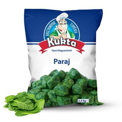 Sugestie de prezentare pentru Spanac frunză porționat Kukta