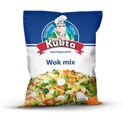 Sugestie de prezentare pentru Amestec Wok Kukta