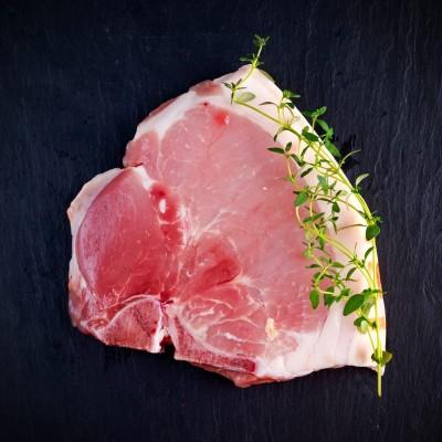 Sugestie de prezentare pentru T-bone steak de porc