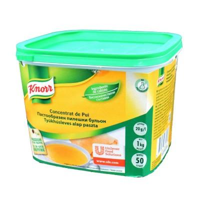 Concentrat de pui, Knorr