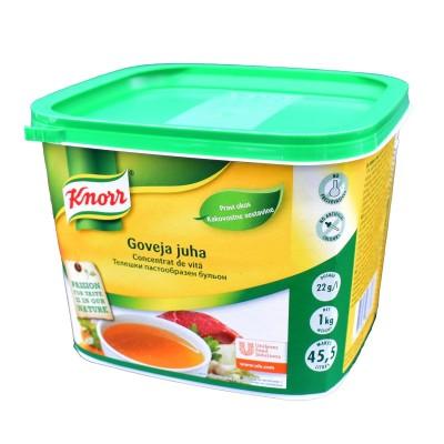 Concentrat de vită, Knorr