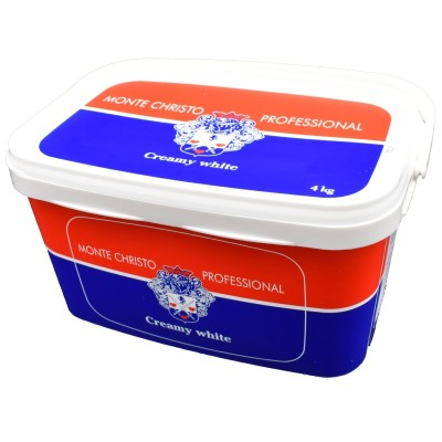 Monte Christo, specialitate albă Double Cream, 4 kg
