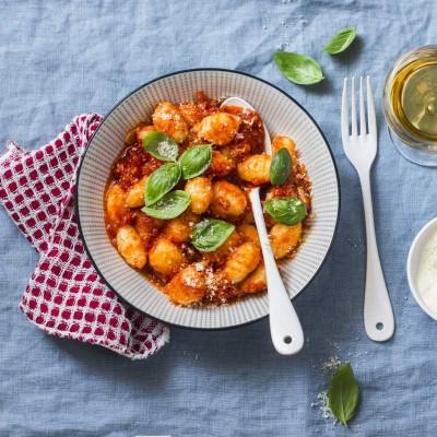 Sugestie de prezentare - Gnocchi de cartofi Canuti