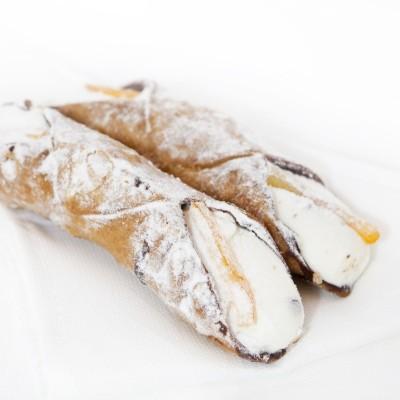 Rulou clasic cu cremă (Cannolo siciliano)