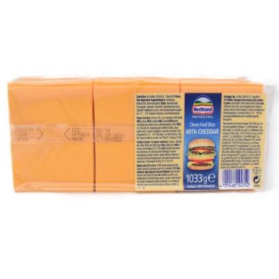 Cheddar, brânză topită felii