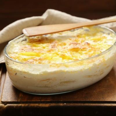 Sugestie de prezentare - Cartofi gratinați refrigerați, 2 Kg