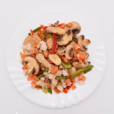 Amestec legume pentru tocăniță cu ciuperci