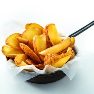Sugestie de prezentare Cartofi Dippers bărcuțe