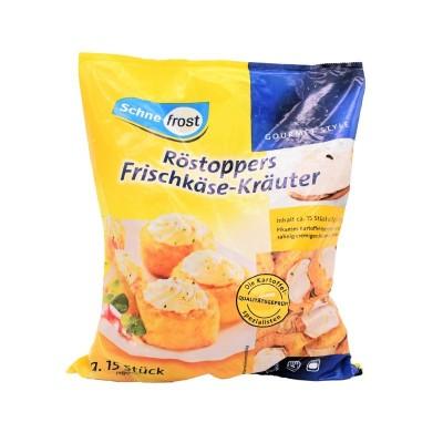 Coșulete de cartofi umplute cu brânză Philadephia