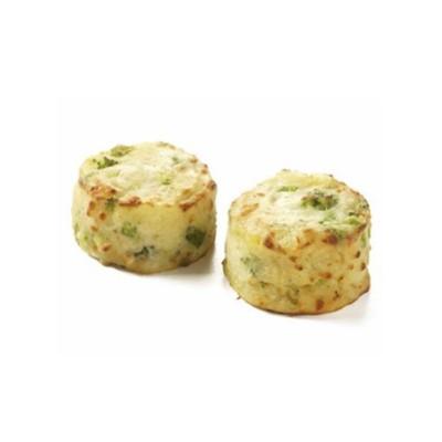 Cartofi gratinati cu broccoli