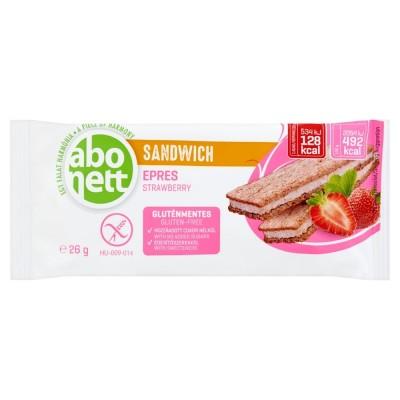 Sandwich cu crema de căpșuni