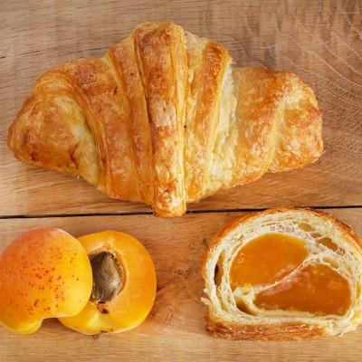 Sugestie de prezentare pentru Croissant mini cu caise, 2 kg vrac