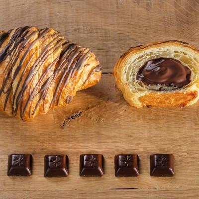 Sugestie de prezentare pentru Croissant mini cu ciocolată, 2 kg vrac