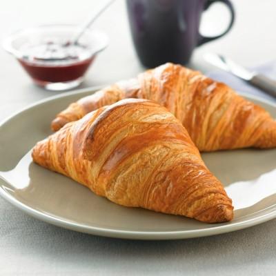 Sugestie de prezentare pentru Croissant CB cu unt, 4,4 kg vrac